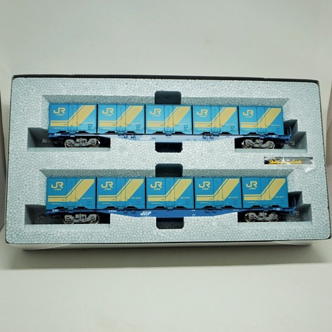 コキ104 18Dコンテナ積載 2両セット