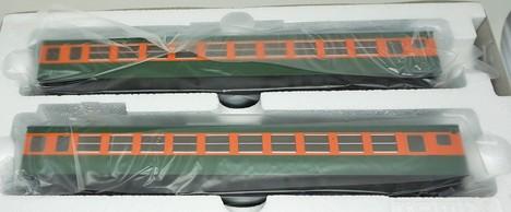 国鉄 153系 急行電車(冷改車)増結セットT2両