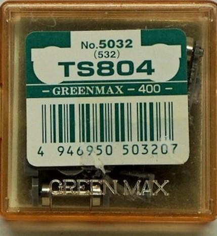 Nゲージ用台車TS804 5032と同一 2個入