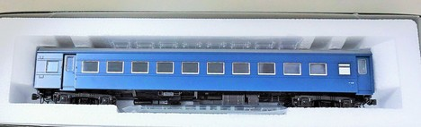 HO スハフ42 改装型  ブルー