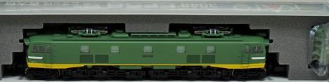 EF58 初期型 大窓 ひさし付  青大将 電気機関車