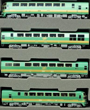 JR キハ47系 特急ディーゼルカー(ゆふいんの森 1世.更新後)セット)セットA7両
