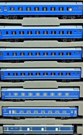 国鉄24系25 0形 特急寝台客車(カニ25)セット