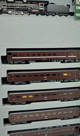 D51 200+ 35系 <SLやまぐち号> 6両セット
