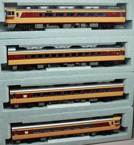 HO  キハ82系 4両基本セット