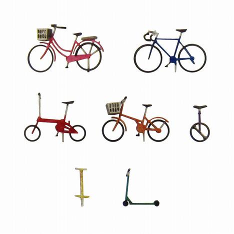 みにちゅあーとキット 1/150 自転車B