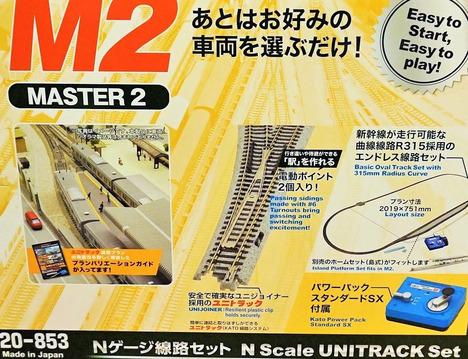 M2 待避線付エンドレス線路基本セット