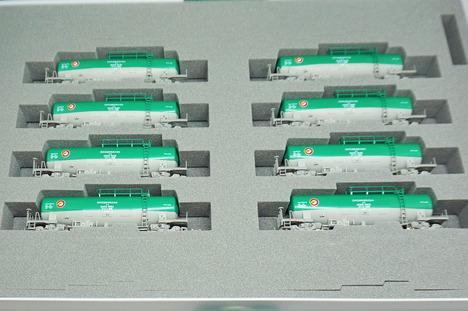 タキ1000(後期形)日本石油輸送 8両セット