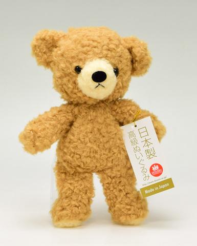 クマのぬいぐるみ フカフカSブラウン21cm(日本製)