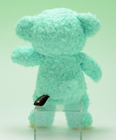 クマのぬいぐるみ フカフカSミント21cm(日本製)