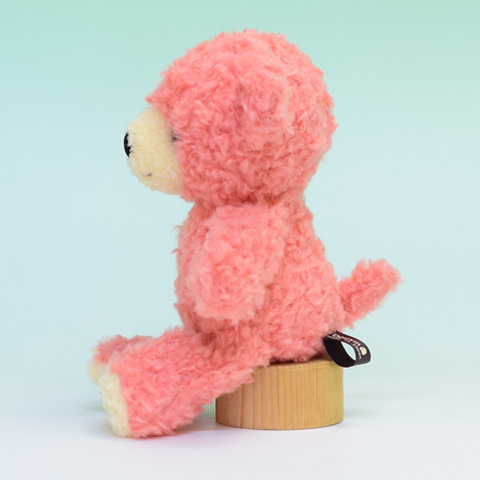 クマのぬいぐるみ フカフカSコーラルさくら21cm(日本製)
