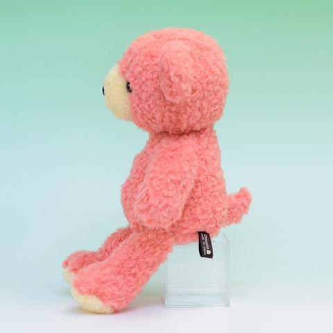 クマのぬいぐるみ フカフカMコーラルさくら29cm(日本製)