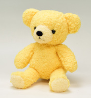 クマのぬいぐるみ フカフカMヤマブキ29cm(日本製)