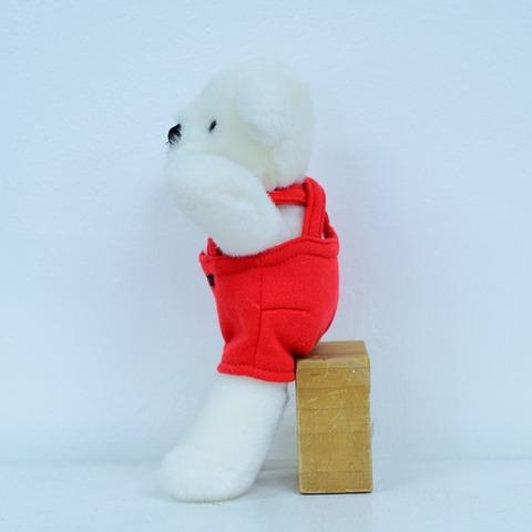 ラトルベア・ミニ ホワイト 23cm