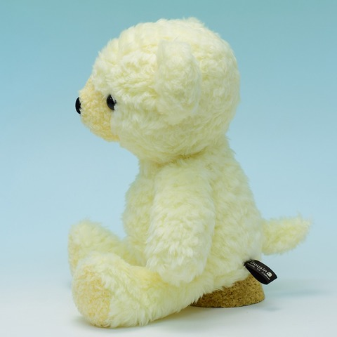クマのフカフカ Nostalgique 限定品・Mクリーム29cm(日本製)