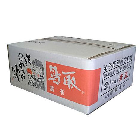 富有柿<赤秀・5kg・2Lサイズ>