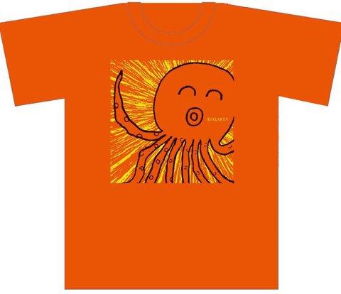 ほぶらきんTシャツ「巨大タコ」