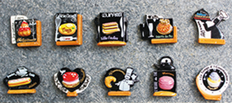美食家の看板 10ピースシリーズ