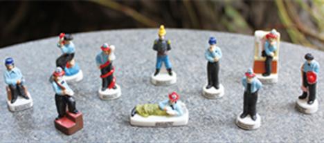 チャップリンの消防士 10ピースシリーズ