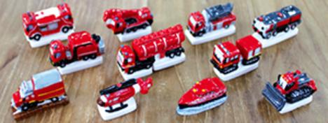 様々な消防車 12ピースシリーズ