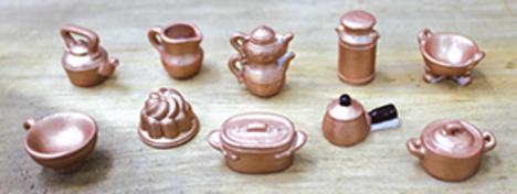 昔のキッチン道具 10ピースシリーズ