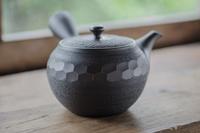 宝龍 黒 420cc 深蒸し茶用急須