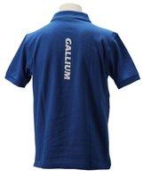 GALLIUM ポロシャツ BL
