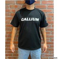 GALLIUMロゴT-シャツ BK