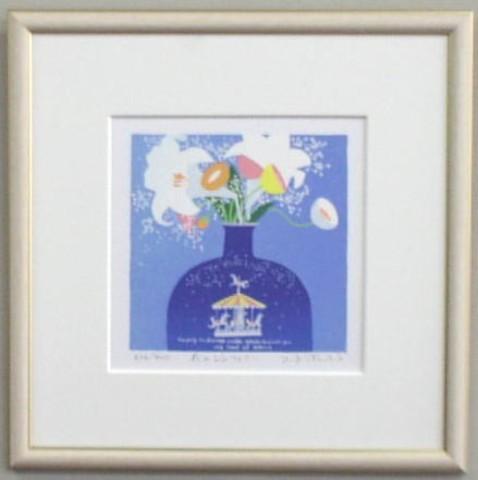 版画 30201 花のシンフォニー 吉岡浩太郎
