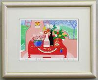 版画IP15 赤いピアノ吉岡浩太郎