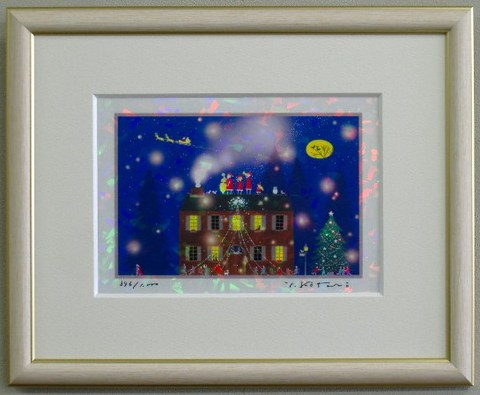 版画IPC15 クリスタル・クリスマス吉岡浩太郎