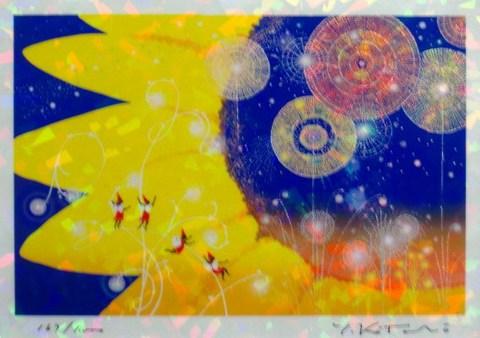 版画IPC24 クリスタル・光の国吉岡浩太郎