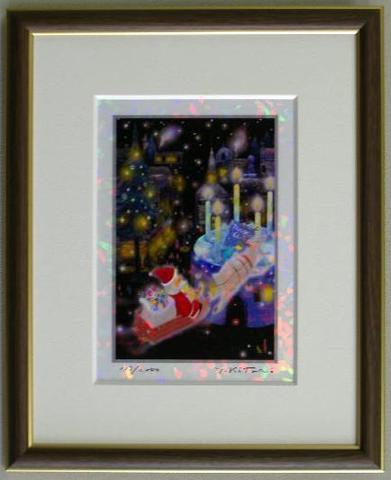 版画IPC26 クリスタル・クリスマス吉岡浩太郎