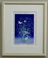 版画IPC59 クリスタル・小さな花吉岡浩太郎