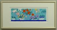 版画L505 花の詩 吉岡浩太郎