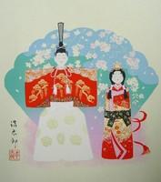 色紙18雛・吉岡浩太郎