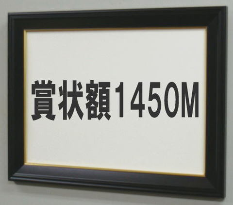 賞状額1450M 八号(額縁内サイズ455X333ミリ)