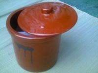 たれ壷(陶器製)切立タイプ1号1.8L1升直165高190