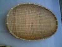竹ザル楕円59cm