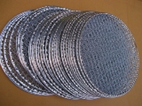 焼肉使捨網(平面)27cm50枚