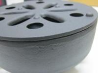 南部鉄温め器径15xH7,5cmキャンドル