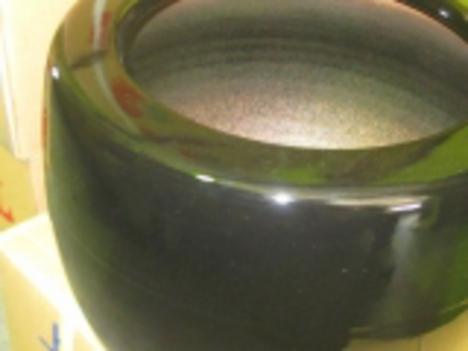 信楽ブラック火鉢