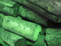 ラオス備長炭切太丸15kg弾きにくい炭です