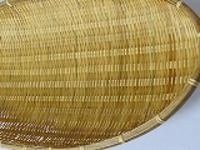 竹ザル楕円小