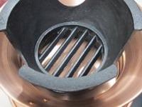 水コンロ銅製M式径250×H105mm