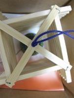 竹製風鈴まんじヤグラ日本の竹浄水竹炭5枚付