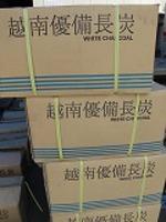 ベトナム備長炭15kg×2--30kg中丸(太丸)揃い