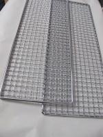 炭焼きコンロ用ステンレス網2枚セット600x180mm