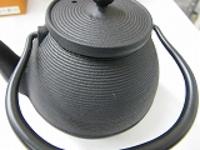 南部鉄急須壷型筋目0.5LOIGEN浄水竹炭5枚付