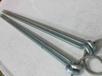 長い火箸43cm長火箸2本セット浄水竹炭5枚付